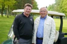 Willi Wolters mit Ralf Feldner